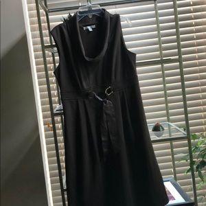 Sandra Daren chocolate colored sleeveless dress